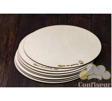 25cm wooden underlay (6mm thickness)