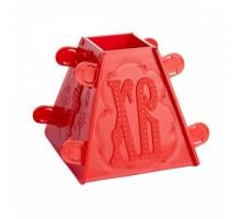 Форма пластиковая для творожной пасхи маленькая арт. 52292