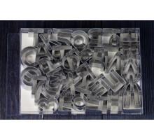 Вырубки металлические русские буквы