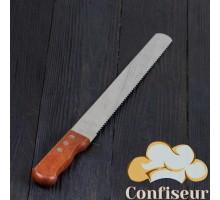 Кондитерский нож с крупным зубчиком (47 см)