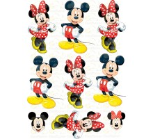 """Edible picture """"Mickey Mouse"""" -7"""