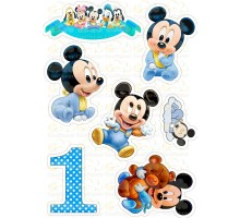 """Edible picture """"Mickey Mouse"""" -8"""