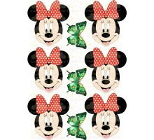 """Edible picture """"Minnie Mouse"""" -12"""