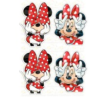 """Edible picture """"Minnie Mouse"""" -13"""