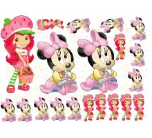 """Edible picture """"Minnie Mouse"""" -14"""