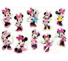 """Edible picture """"Minnie Mouse"""" -17"""