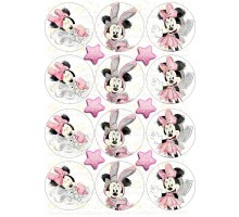 """Edible picture """"Minnie Mouse"""" -18"""