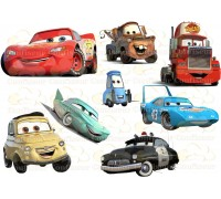 """Waffle picture """"Cars""""-18"""
