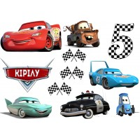"""Waffle picture """"Cars""""-19"""