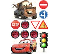 """Waffle picture """"Cars""""-21"""