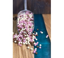 Decor from chocolate Mix - Crispearls Mix (100 grams)