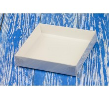 Box for gingerbread №1 with plastic cover