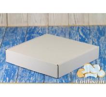 Коробка для 25 капкейков 260*260*50 белая