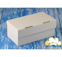 Коробка для 2 капкейков 195*100*80 белая