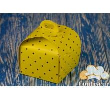"""Box """"Bag 1"""" 110 * 110 * 110 Yellow peas"""