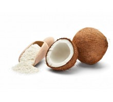 Coconut chips 1.0-2.8 mm with reduced fat content (1 kg)