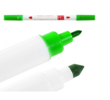 Двусторонний фломастер-маркер - Зеленый