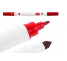 Двусторонний фломастер-маркер - Красный