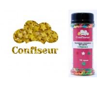 Сахарные звёзды золотые (75 грамм)