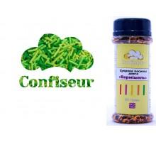 Сахарная вермишель Зеленая трава (80 грамм)