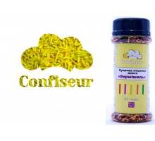 Сахарная вермишель Желтая (80 грамм)