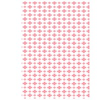 Film decal A-4 Pink flowers 1pc
