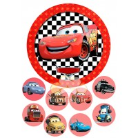 """Waffle picture """"Cars""""-1"""