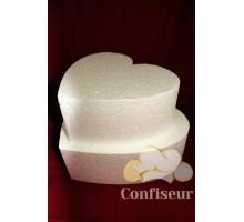 "Cake dummies ""Heart"" d14 h10 cm"
