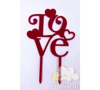 "Topper ""LOVE"""