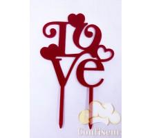 """Топпер """" LOVE"""""""