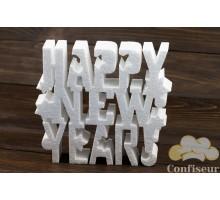 """Декор из пенопласта """"Happy New Year"""" 25см*23 см"""