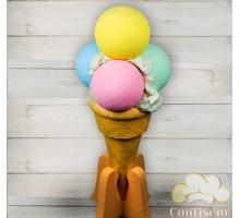 """Муляж """"Мороженное цветное на подставке"""""""