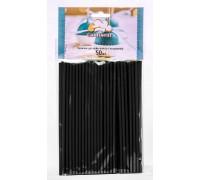 Палочки для кейк-попсов и леденцов чёрные 150мм