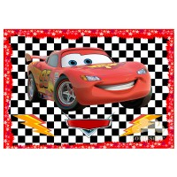 """Waffle picture """"Cars""""-3"""