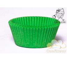 Paper capsules standard lime green 50pcs