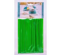 Палочки для кейк-попсов и леденцов зеленые 150мм