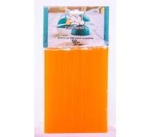 Палочки для кейк-попсов и леденцов оранжевые  150мм