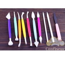 Набор cтеков для мастики (10 шт)