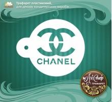 """Мастер трафарет """"Chanel"""""""