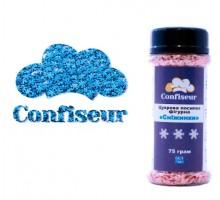 Сахарные снежинки голубые (75 грамм)