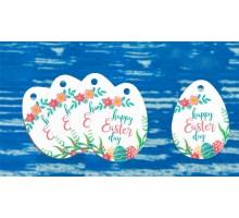 """Бирки декоративные. Код БД-238 """"Happy Easter Day"""""""