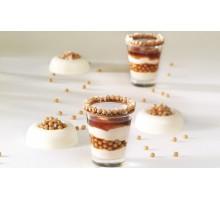 Декор из шоколада со вкусом Соленая Карамель - Crispearls ™ Salted Caramel