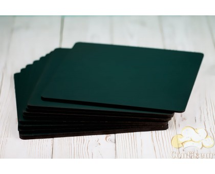 Black MDF substrate square 10*10cm