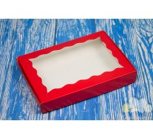 """Box """"Wave of red"""" 220*150*30"""