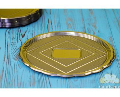 The Medoro gold tray round 28 cm