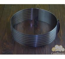 Раздвижная форма круглая с прорезью d 240-300 мм