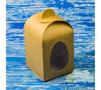 """Коробка. Модель №0042 """"Пасхальная"""". Код М0042-о3. Крафт"""