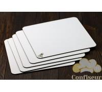 Underlay hardboard white square 28*28cm