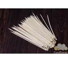 Шпажки бамбуковые круглые 20см, d 3 мм (100 штук)