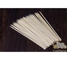 Шпажки бамбуковые круглые 25см, d 4 мм (50 штук)